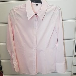 Express design soft pink dress shirt NWOT
